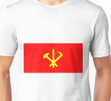 Flag of the Workers' Party of Korea Unisex T-Shirt