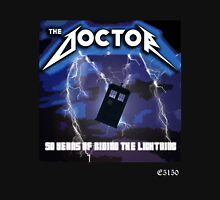 The Doctor is Metal Unisex T-Shirt