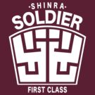 Final Fantasy VII - SOLDIER First Class Logo by Studio Momo╰༼ ಠ益ಠ ༽