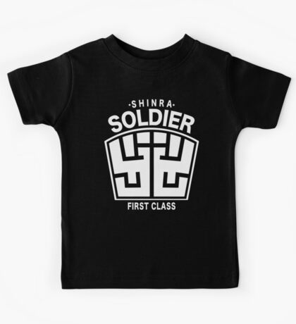 Final Fantasy VII - SOLDIER First Class Logo Kids Tee