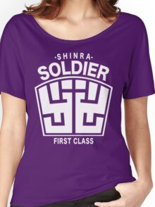 Final Fantasy VII - SOLDIER First Class Logo Women's Relaxed Fit T-Shirt