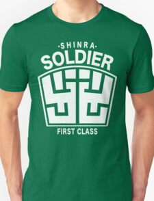 Final Fantasy VII - SOLDIER First Class Logo T-Shirt