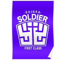 Final Fantasy VII - SOLDIER First Class Logo Poster