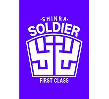 Final Fantasy VII - SOLDIER First Class Logo Photographic Print