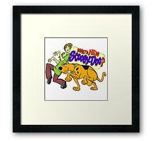 Scooby Doo Framed Print
