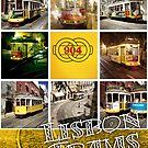 Lisbon Trams by Mark Higgins