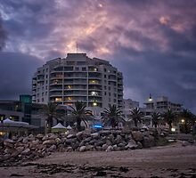 Cronulla twighlight before the storm by Chris Brunton