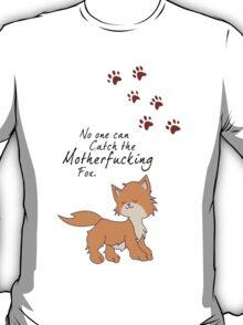 "Looking For Alaska - ""No One Can Catch the Motherfucking Fox"" John Green [Apparel & Sticker] T-Shirt"