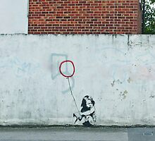 Ad Hoc Balloon Girl  by BanksyOfficial