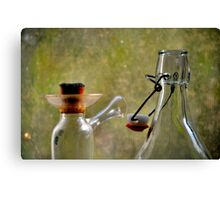 Glassware Closeup Canvas Print