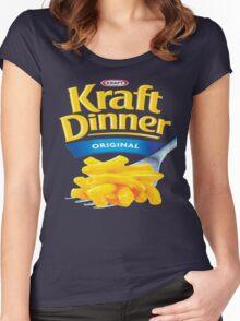 Kraft Dinner Mac 'n' Cheese T-Shirt Women's Fitted Scoop T-Shirt