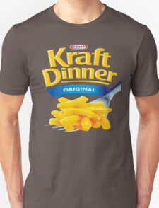 Kraft Dinner Mac 'n' Cheese T-Shirt Unisex T-Shirt