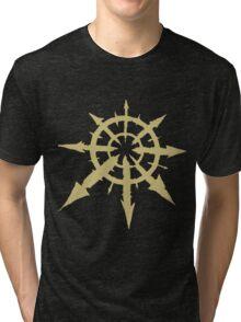 Chaos Symbol Tri-blend T-Shirt