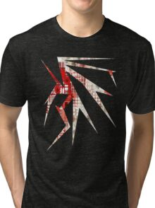 Abstract Flowers Tri-blend T-Shirt