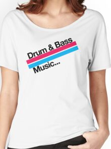 Drum & Bass F2 Women's Relaxed Fit T-Shirt