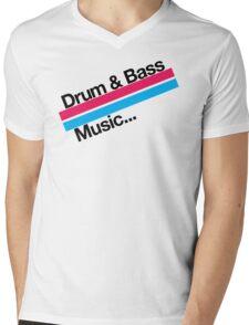 Drum & Bass F2 Mens V-Neck T-Shirt