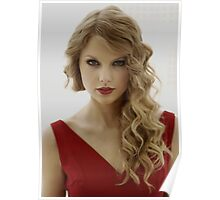 Hot Red Taylor Swift Poster