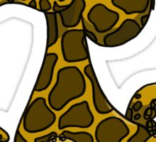 GIRAFFTOPUS Sticker