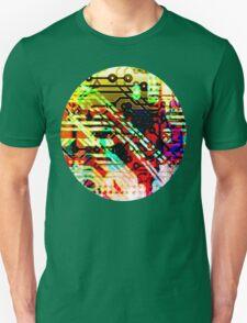 Color circuit Unisex T-Shirt
