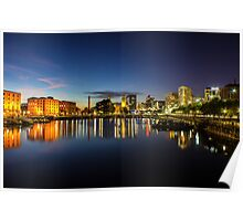 Salthouse Dock - Liverpool Poster