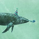 Party Whale (mint option)  by Terry  Fan