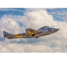 De Havilland Vampire T.11 WZ507 G-VTII Photographic Print