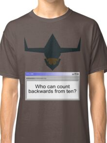 Digimon- Who can count backwards from ten? Classic T-Shirt