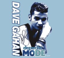 Depeche Mode Dave Gahan 1985 Signed Shirt by Shaina Karasik