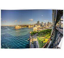 Sydney Harbour & Opera House Poster