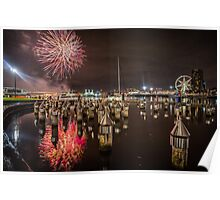 Docklands Fireworks Poster