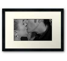 Reinette and the Doctor Framed Print