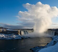 Niagara Falls Makes It's Own Weather by Georgia Mizuleva