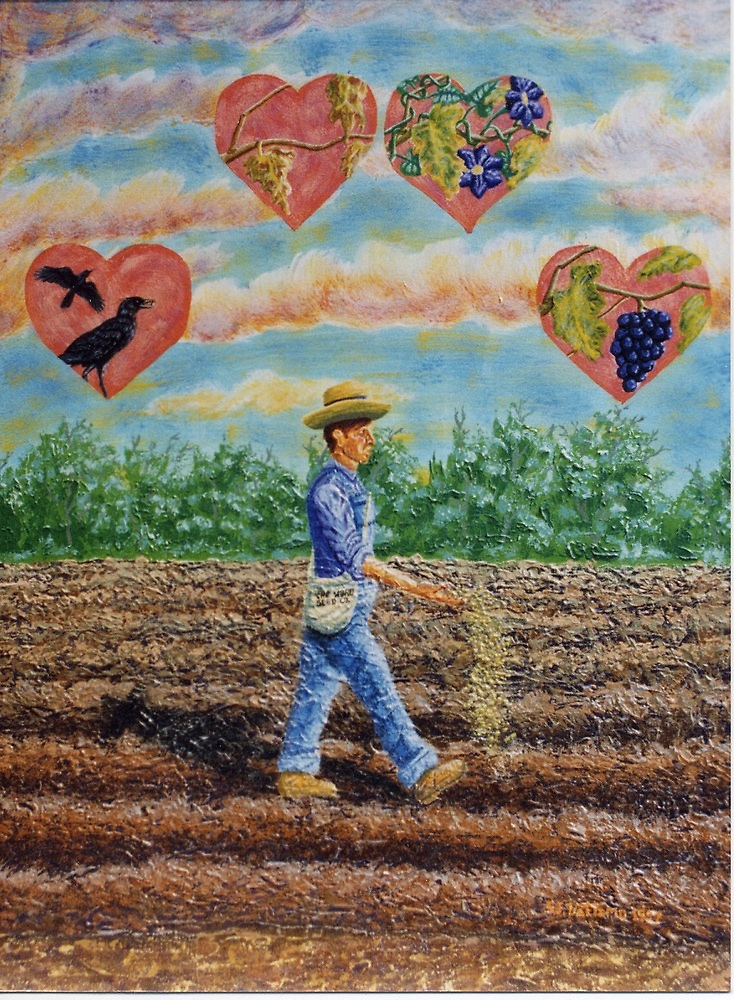 Sower And The Seed by Stephen  J. Vattimo