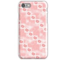 PINK LIPS PHONE COVER iPhone Case/Skin