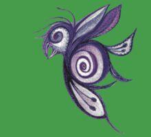 Birderfly - Purple Remix Kids Clothes
