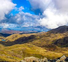 Scafell Pike Panorama by Paul Madden