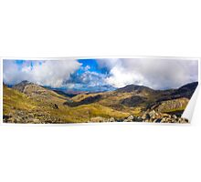 Scafell Pike Panorama Poster
