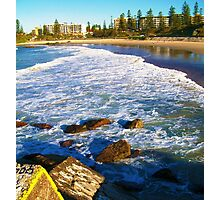 Port Macquarie Lookout over the sea. Photographic Print