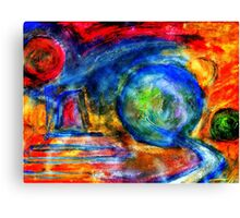 Abstract World. Canvas Print
