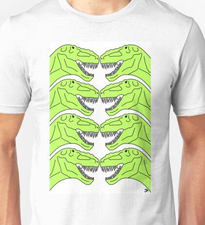 Tyrannosaurus Rex Dinosaur Pattern Unisex T-Shirt