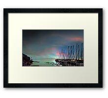 Birds Bay Retreat Framed Print