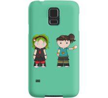 Katie & Carly! Samsung Galaxy Case/Skin