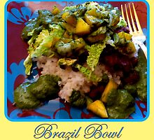 Brazil Bowl by ©The Creative  Minds