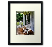 Grandma's Front Porch Framed Print
