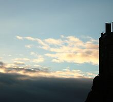 Edinburgh Castle by Manon Mispiratceguy