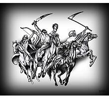 Four Horseman of the Apocalypse Photographic Print