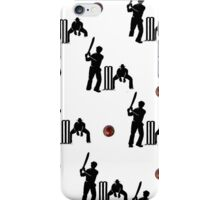 CRICKET- BAT AND BALL GAME COVER  iPhone Case/Skin