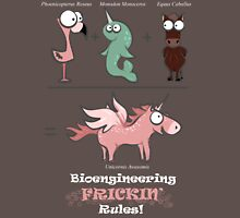 Bionegnieering+Unicorns = Win! [dark - SFW] Unisex T-Shirt