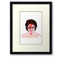 Wizardin Sane Framed Print