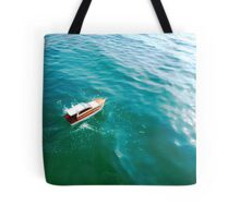 Remote boat Tote Bag